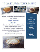 Butter tarts and Pies