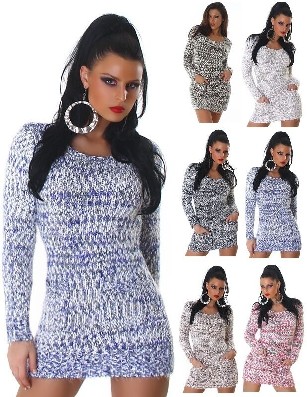 Jela London  Pullover Pulli Strickpullover Longpullover Sweater