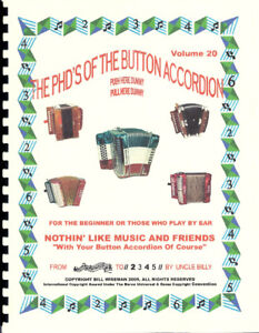 PLAY BY NUMBERS BUTTON ACCORDION BOOK