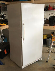 20 Cubic Ft. Fridgidaire Upright Freezer, 3 yrs. old.