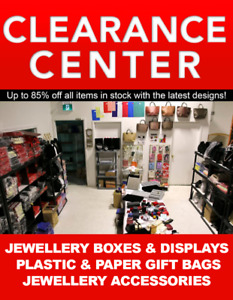 CLEARANCE CENTER - JEWELLERY BOXES & DISPLAYS + BAGS WAREHOUSE