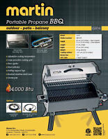 Portable gas BBQ, Brand new, never used, only $75 cash firm