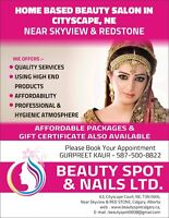 Professional Beauty services in Cityscape near Skyview and Redst