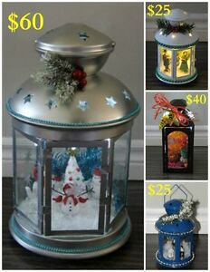 Handmade - Light Up Lanterns - ( Small - Medium - Large )