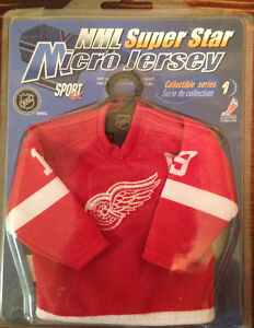 Steve Yzerman Mini Jersey & Other Items