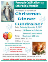 Food servers required Dec 2 from 6-9:30 (pays cash plus dinner)