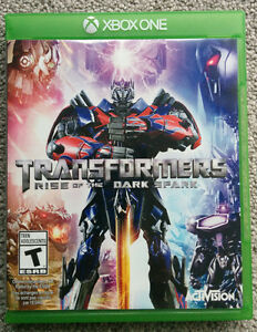 Transformer Rise Of Dark Spark-Excellent as New
