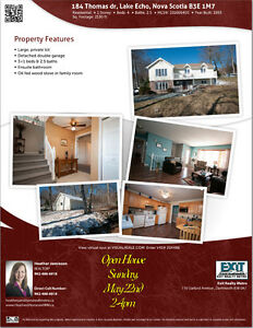 Open House today 2-4pm - 4 bdrm home on large lot in Lake Echo