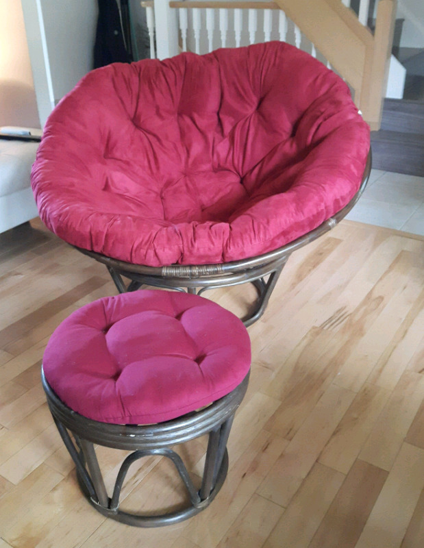 High Quality Papasan Chair/Footstool | Chairs & Recliners ...
