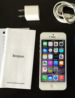White Iphone 5,32GB Almost Brand New Condition.Factory Unlocked