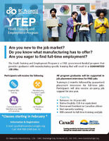 Manufacturing Employment for Youth (16 - 30)