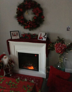 White Fireplace For Sale