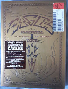 Eagles Farewell Tour Live From Melbourne - 2 DVD Set - Sealed