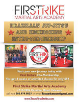 4 Weeks of Unlimited Kickboxing Classes for only $59
