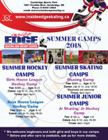 Skating and Hockey Summer Camp