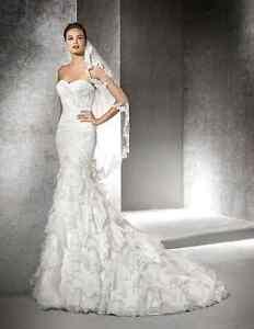 San Patrick Eresma Wedding Dress - Size 2