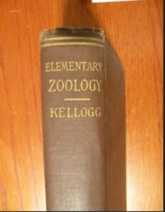 Antique book - Elementary Zoology
