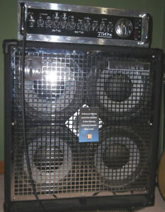 "SWR Goliath 4 x 10""  800 watts  8 ohm Bass Cabinet"