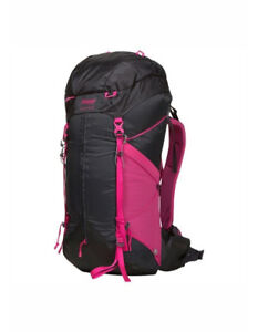 Bergans of Norway Helium 40L Pack - Women Charcoal / Hot Pink