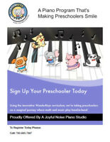 Piano Lessons Ages 3-adult