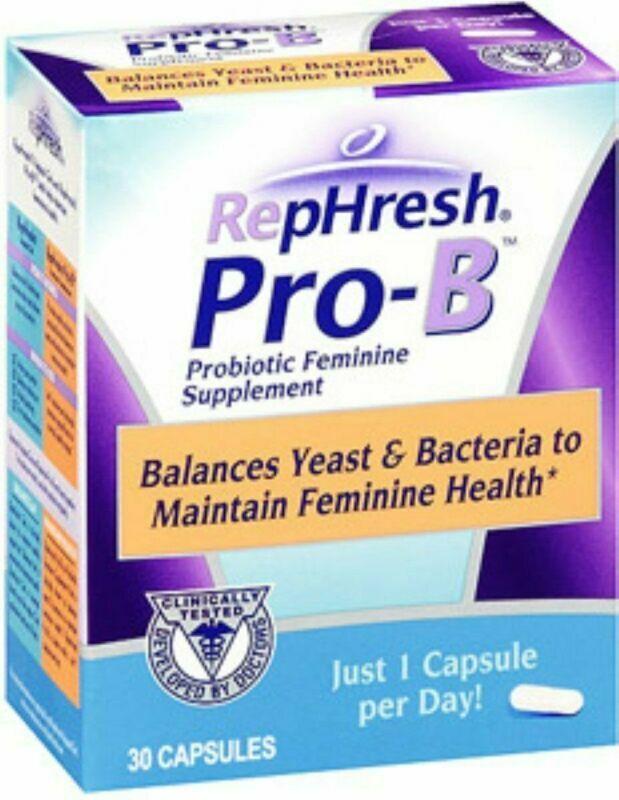 Rephresh Pro-B Probiotic Feminine Supplement - 30 Ea