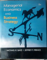TEXTBOOK for sale - SFU BUS Managerial Economics