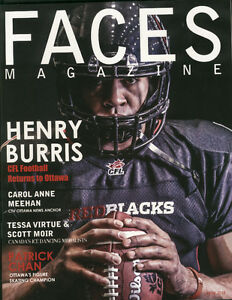 Faces Magazine Ottawa Redblacks Henry Burris