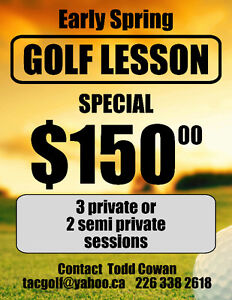 Golf Lessons Kitchener / Waterloo Kitchener Area image 1