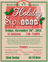 Birch Hills Academy Holiday Sip & Shop