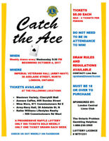 Catch the Ace Progressive Charity Lottery is growing!