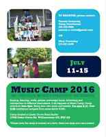 MUSIC CAMP July 11-15