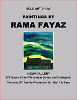 Solo art and painting exhibition
