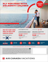 Sail away with Celebrity Cruises and Fly FREE to Europe!