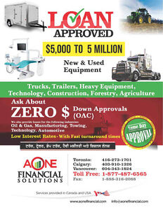 FINANCING FOR BUSINESS/TRUCK/TRAILER LEASE Peterborough Peterborough Area image 1