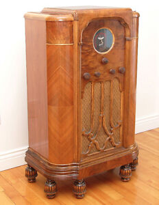 Radio-Meuble Antique - MARCONI - Annees '30