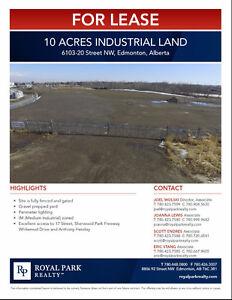 Up to 10 Acres SE Edmonton Industrial Land