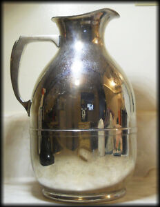 Antique American Thermos Bottle Co.USA - June 20. 1911 - CHROME