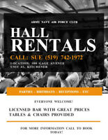 Hall for Rent