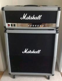 Marshall 2555X head + Marshall 2551AV Silver Jubilee