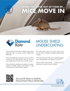 RV Pro Undercoating - Mouse Shield