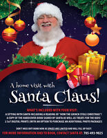 A home visit with Santa!