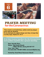 Let's pray together for China and the Corona Virus