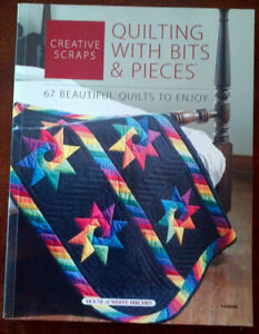 Quilting with Bits and Pieces - 67 quilt patterns - $8.00