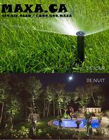 arrosage automatique irrigation éclairage sprinklers