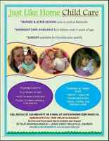 Flexible hours, Licensed, space available! Daycare / Child Care