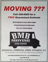 Moving???  Call 204-298-6069 for a FREE ESTIMATE!
