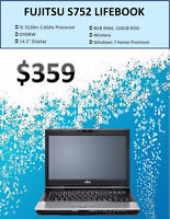 FEBRUARY SALE - Fujitsu S752 Laptop Only 359