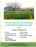 D & S Home and Yard Maintenance