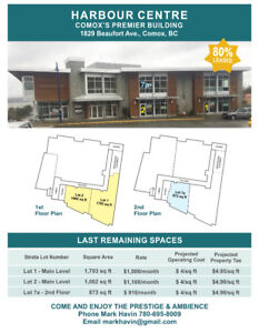 Comox Exceptional Office or Retail Space