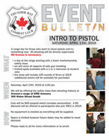 Safety Training / Live Fire Event April 13th - NO LICENSE NEEDED